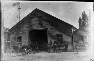 Hamilton Horse Bazaar and Dalgliesh & Co Livery & Bait Stables