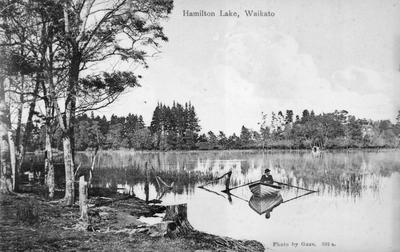 """Hamilton Lake, Waikato"""