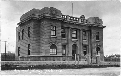 """""""Government Buildings Hamilton"""""""