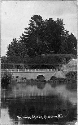 """Whitiora Bridge, Hamilton, NZ."""