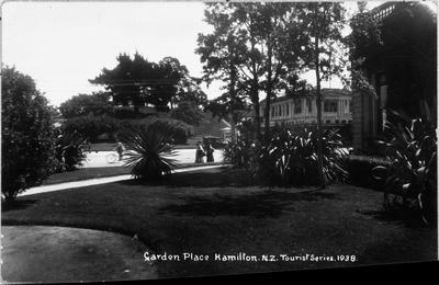 """""""Garden Place Hamilton. N.Z."""""""