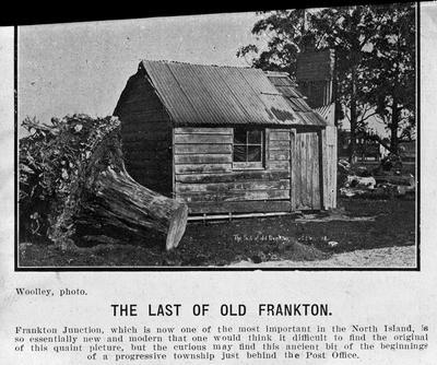 """The Last of Old Frankton"""