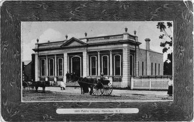 Hamilton's 'Free Public Library'