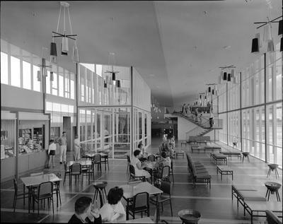Hamilton Airport cafeteria