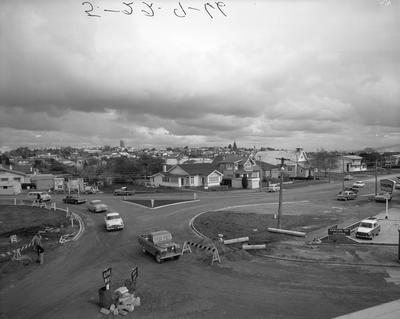 Norton Road and Seddon Road roundabout