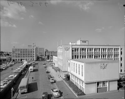 Hamilton City Council municipal buildings 1960s