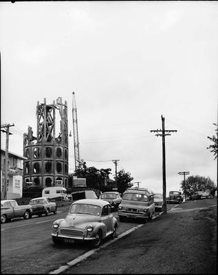 Demolition of the Frankton water tower