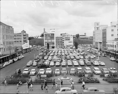 Garden Place from the Chief Post Office 1963