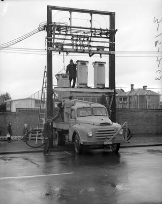 Removing a transformer in Hamilton East