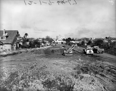 Claudelands Road extension 1967