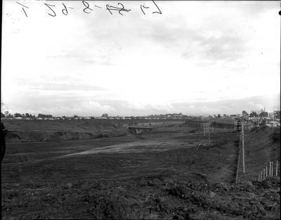 Hamilton Gardens site in 1967