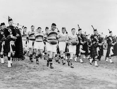 Waikato v Manawatu rugby match