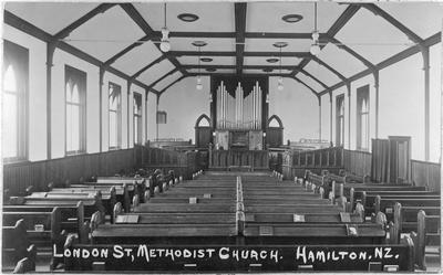 Interior of St Paul's Methodist Church