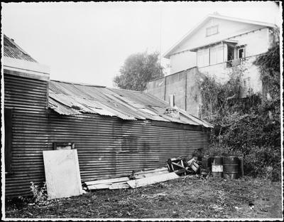 Garden Place Hill from Mullins Garage