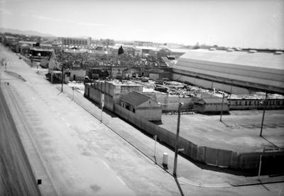Demolition of Winter Show buildings