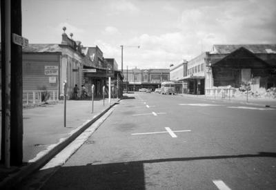 Ward Street looking east towards Victoria Street