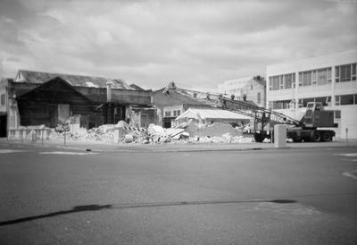 Demolition of Bisley's Buildings