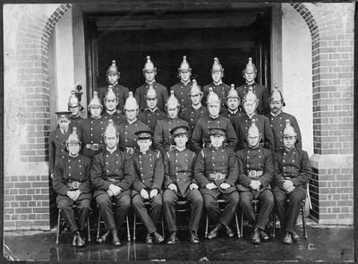1924 Hamilton fire brigade