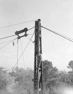 Railway Bridge construction c. 1961