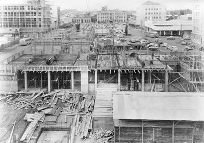 Construction of Hamilton City Council Municipal Offices