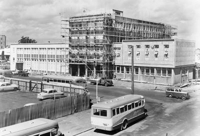 Hamilton City Council municipal buildings under construction