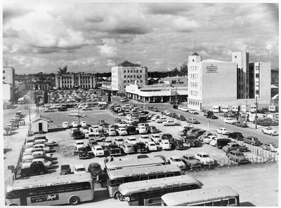 Garden Place and Civic Square in the 1950s