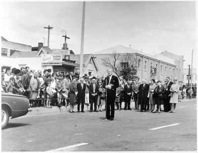 Opening of the Claudelands Road Bridge
