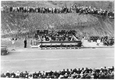 The official opening of Cobham Bridge