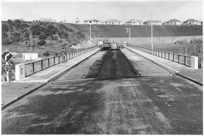 Construction of Cobham Bridge