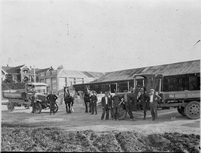 Hamilton Borough Council Depot 1920