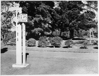 Clock tower at Hamilton Lake Domain