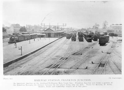 Frankton Junction railway station - keep offline