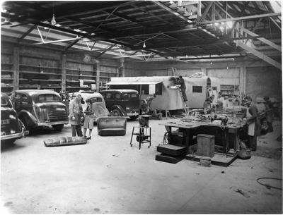 Inside S.T. Nolan's workshop
