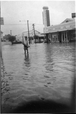 Flooding on Hood Street