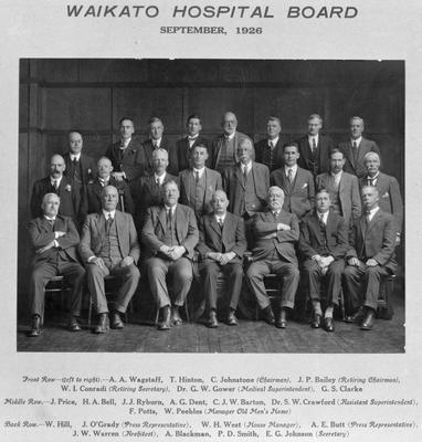 Waikato Hospital Board 1926