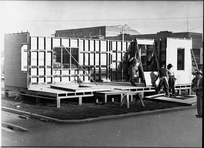Ellis and Burnand - Patriotic Hut, Hamilton - WWII