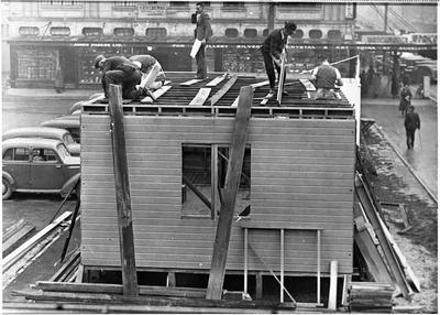 Ellis and Burnand Patriotic Hut Hamilton WWII