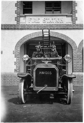 Hamilton Fire Station - Dennis Engine