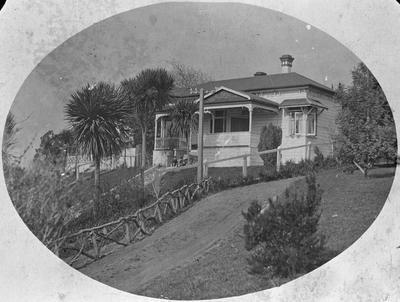 Charles Lewis Innes' family home on Tisdall Street