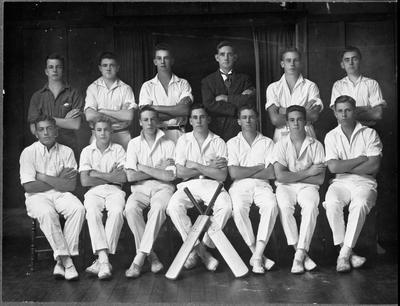 Hamilton High School First XI (eleven) 1927