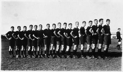 Hamilton Boys High School First XV (first fifteen) c. 1925