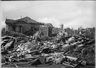 Frankton tornado damage