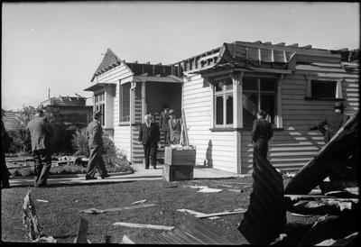 4 Keddell Street after the Frankton tornado