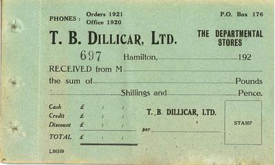 T B Dillicar Ltd