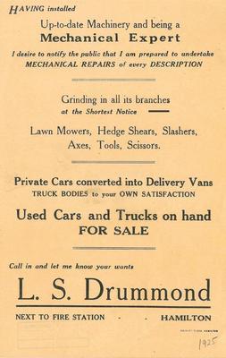 L. S. Drummond