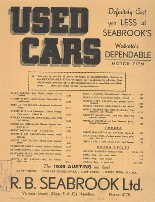 R B Seabrook Ltd