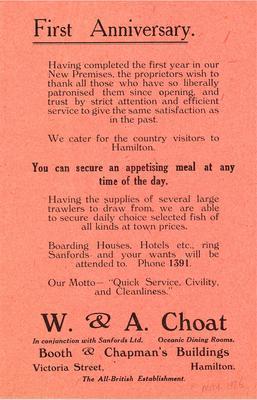 W & A Choat
