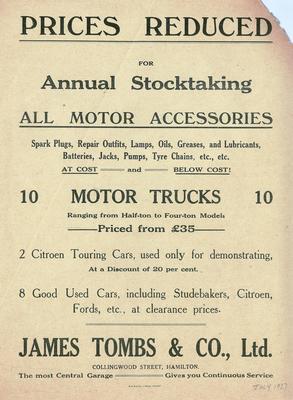 James Tombs & Co, Ltd