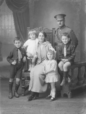 Portrait of McDonald family