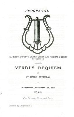 Hamilton Orpheus Grand Opera and Choral Society